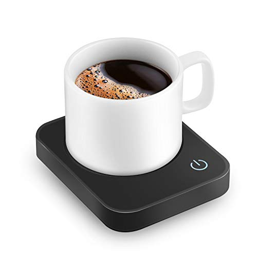 VOBAGA Coffee Mug Warmer, Electric Coffee Warmer for Desk with Auto Shut Off, 3 Temperature Setting Smart Cup Warmer for Warming & Heating Coffee, Beverage, Milk, Tea and Hot Chocolate(No Cup) (X-Mas)