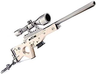 17cm FORTNITE Bolt sniper rifle gun model Toy Alloy weapon Keychain Action Figure model