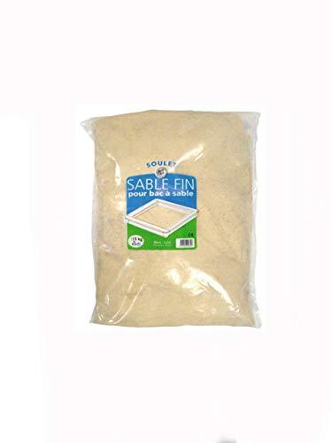 SOULET Sacchetto da 15kg di Sabbia Lavato per Sandpits