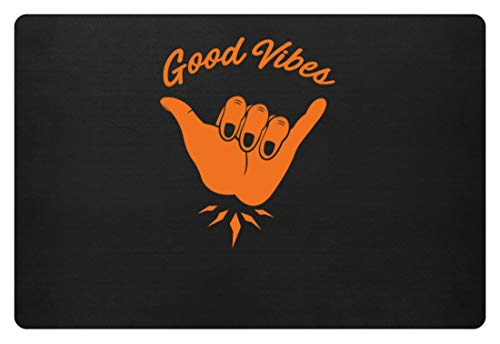 Generisch Good Vibes - Goede stemming party groep motief - eenvoudig en grappig design - deurmat