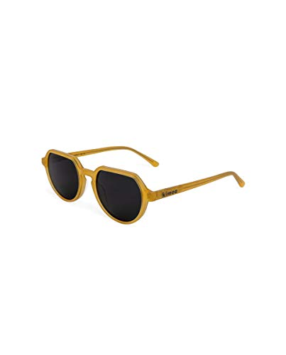 Kimoa - Beverly Gafas, Amarillo, Normal Unisex Adulto
