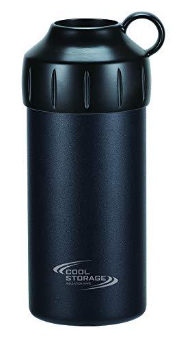 パール金属 クールストレージ ペットボトルクーラー500・600ml兼用 ブラック D-6483
