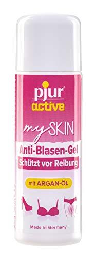 pjuractive mySKIN - Hautschutz-Gel für Frauen - Nie wieder Schmerzen durch Blasen und Reibung dank unsichtbarem Schutzfilm - 30ml (1er Pack)