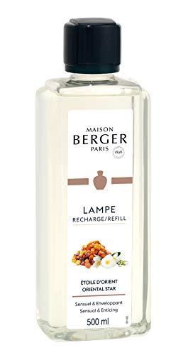 Maison Berger Paris - Recharge Lampe Berger 500 ml - Parfum Etoile d'Orient