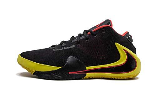 Nike Zoom Freak 1 Uomini Bq5422-003, nero (Nero/Nero-Rosso Orbit-opti Giallo), 42.5 EU