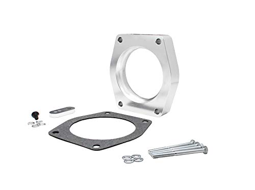 11256 Throttle Body Spacer Compatible with GM Truck 4.8L, 5.3L, 6.2L 2007-2011 Replace for Spectre Performance