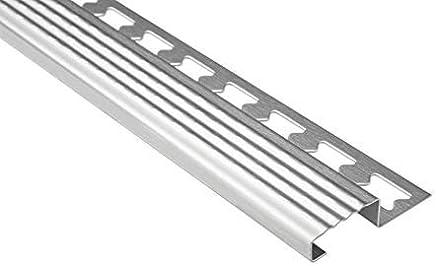 placage diff/érents h/être 100 STB protection dangle longueur 100cm nez de marche Dalsys Profil/é descalier protection de bords fabriqu/é daluminiun