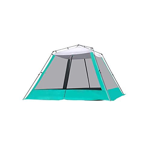 KJLY Tiendas de campaña Camping Instantáneo Pop Up Up Family Camping Tienda 6-8 Persona Tienda portátil Tienda automática Tienda Afile a Prueba de Viento para Acampar Senderismo Montañismo, 305 * 305