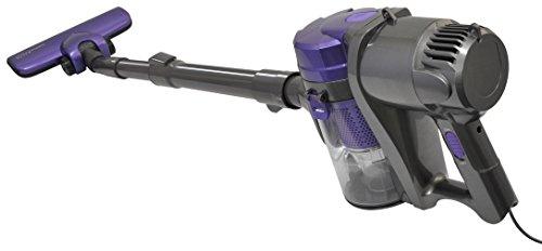 VERSOS パワフル吸引 軽量&コンパクト ワンタッチ簡単ゴミ捨て 紙パック不要 サイクロン スティック 掃除機 サイクロニックマックス KALOS パープル VS-6300