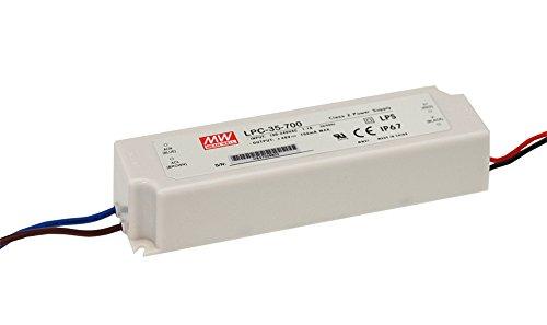 Mean Well, wasserdichte LED Ändern die Stromversorgung, Converter für die, Transformator, Switching Power Supply ac- DC 9~ 24V 35W 1400mA lpc-35–1400