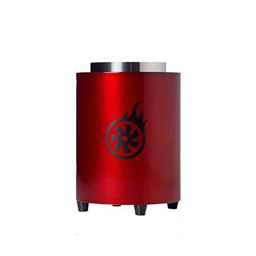 Shisha-Turbine NEXT Kohleanzünder Magic Red | Elektrischer Kohlenanzünder für Shisha Kohle