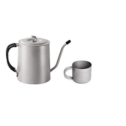 Caldera de té Largo y Estrecho Boquilla Cafetera Bote al