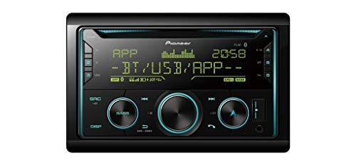 Pioneer FH-S720BT CD-Autoradio 2DIN CD-Autoradio mit Bluetooth Freisprecheinrichtung, Front AUX & USB Anschluss