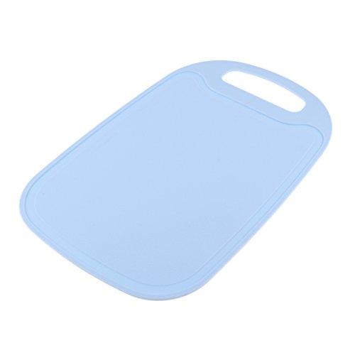 MagiDeal Planche à Découper Extérieure Camping Pique-nique Barbecue Anti-bactéries Tapis De Découpage - Bleu, 326x215x4mm
