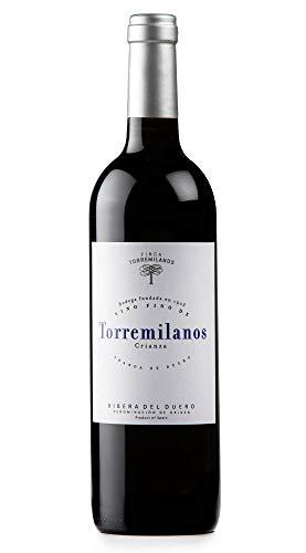 Torremilanos crianza 2016 CAJA DE 6 BOTELLAS DE 750 ML (0.75 L). RIBERA DEL DUERO. Vino tinto crianza: 24 meses de crianza. 95% Tempranillo, 5% Cabernet Sauvignon.