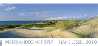 Meerlandschaft (Sylt) 2010: Großformat-Panoramakalender