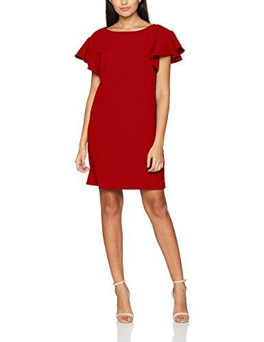 Morgan 172-ROFALI.F-Vestido de Mujer, Rojo (Lipstick), 38