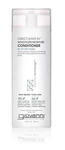 Giovanni Eco Chic Direct Leave-In Conditioner - Weightless Moisture Formula 8.5 oz