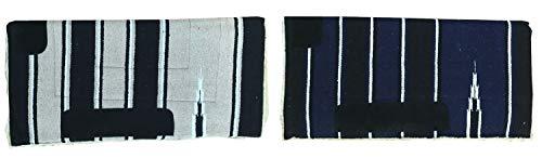 netproshop Sattelunterlage Navajo Western Pad Weiches Webfell Lederverstärkung Full, Farbe:Schwarz/Beige