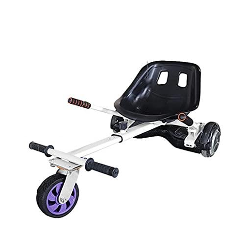 CCCYT Hoverkart para Patinete eléctrico Asiento Kart para Self Balancing Scooter Longitud Ajustable, Compatible con Todos los patinetes - 6.5-10 Pulgadas