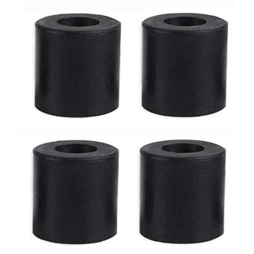 3D Printer Hot Bed Column Heatbed Silicone Leveling Column Heat-Resistant Stable Black Mounts Column Tools Accessaries 4 PCS