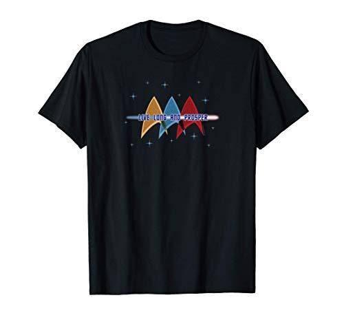 Star Trek: The Original Series Live Long and Prosper Deltas T-Shirt
