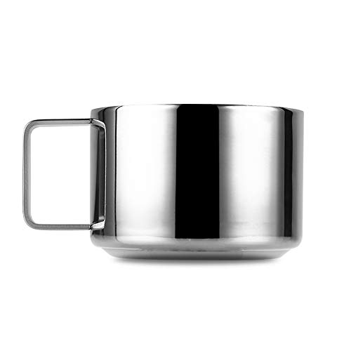 Why Choose Stainless Steel Mugs,Double Wall Beer and Coffee Cups - Comfortable Grip Handle