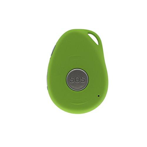 YATEK Localizador GPS portatil Inteligente, gsm para Personas y Mayores con botón S.O.S