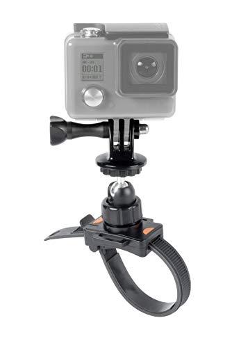 Speedlink ZIP-Mount für GoPro - Zubehör für Action-Cams - Universelle Action-Cam-Halterung, Schlaufenhalterung, 360-Grad-Kugelgelenk, schwarz