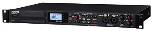 Tascam SD-20M Rackmount Solid State Audio Recorder with XLR Mic Inputs