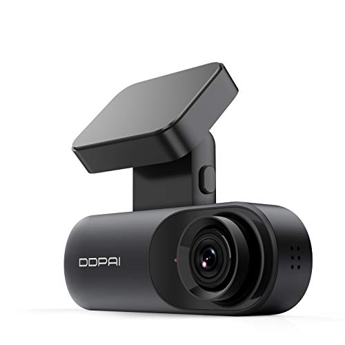 ddpai Mola N3 Dash Cam Dashcam 1600P Full HD DVR Autokamera mit GPS, 140° Weitwinke, Loop-Aufnahme, Verstecktem Design, Parküberwachung, App-Steuerung (Mola N3 GPS-Version)