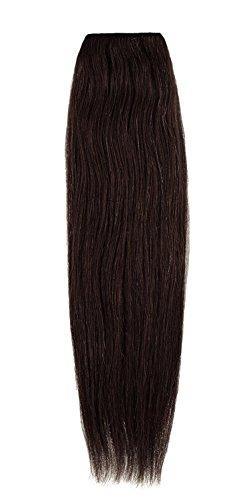 American Dream Remy 100% cheveux humains 35,6 cm soyeuse droite Trame Couleur 3 – Medium Brown