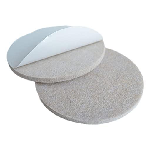 HSLFZD Taza para Muebles 1set Silla autoadhesiva Pastillas de Pierna Protectores de Suelo Fondo Redondo Pastillas Antideslizantes Antideslizante y Resistente al Desgaste, no es fác (Color : 32pcs)