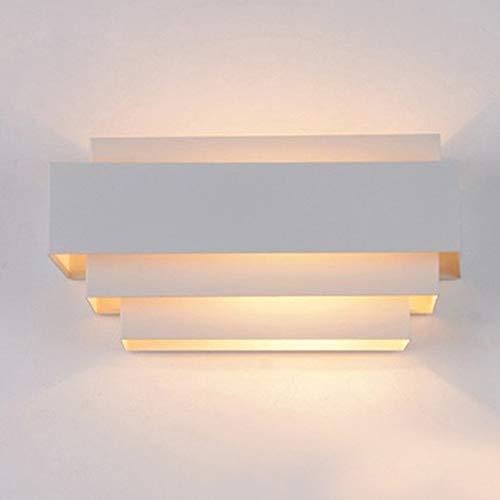 De moderne wand verlicht de wandplanken in de binnenverlichting voor de trap in de slaapkamer van het nachtkastje 25 cm × 14 cm × 12,5 cm.