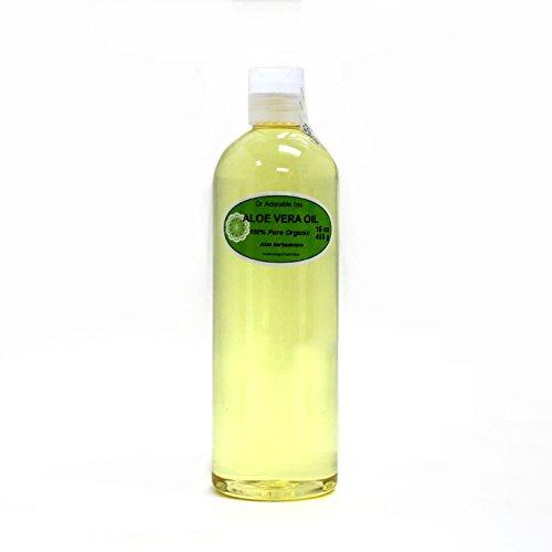Aloe Vera Oil Pure Organic 16 Oz