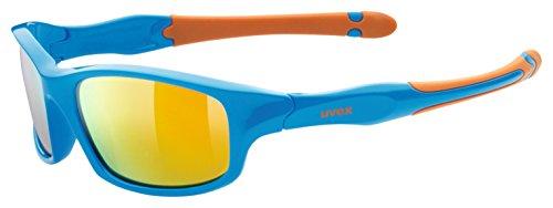 uvex Unisex Jugend, sportstyle 507 Sonnenbrille, blue-orange/orange, one size