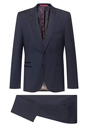 HUGO Arti/Hesten204V1 Costume-habillé, Bleu foncé (405), 52 Homme