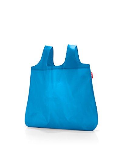 Reisenthel mini maxi shopper pocket Einkaufstasche, Polyester, french blus, 60 x 7 x 43.5 cm