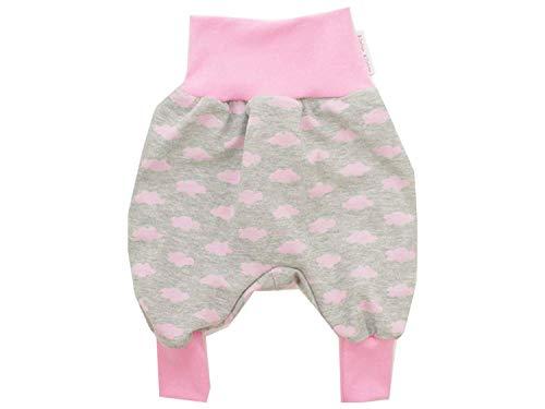 Kleine koning pompbroek baby sweatbroek meisjes · model wolk wolkje roze · Ökotex 100 gecertificeerd · maten 50-164