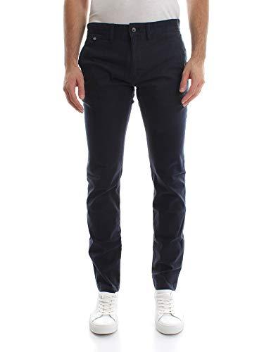 Tommy Jeans Uomo Original Slim Fit Chino Pantaloni, Blu (Navy Blazer 416), W34/L34