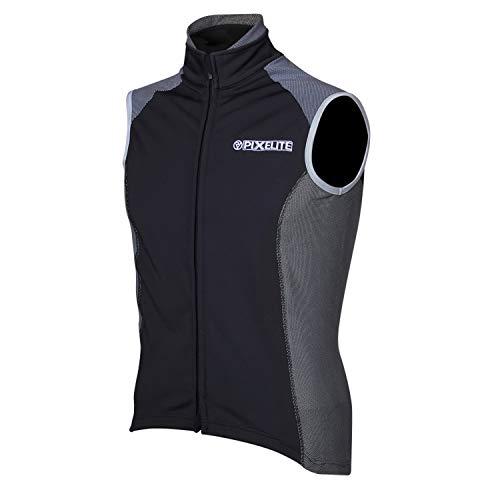Proviz Pixelite Softshell Veste de cyclisme pour homme Pixelite Softshell Cycling Vest, Homme, PVPIXCVM, Noir , s