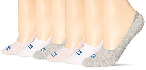 Keds Women's 6 Pack Socks (No Show/Liner) Rose Assorted, Shoe Size: 4-10