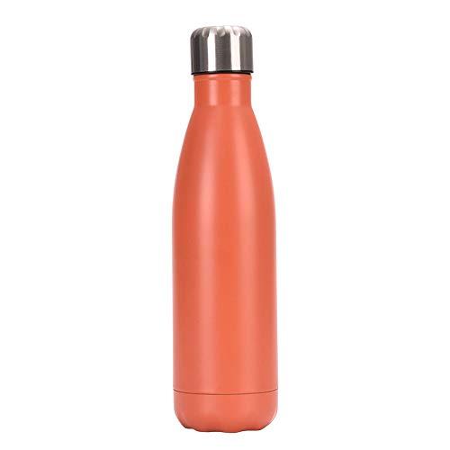 Chilly's Bottles, botella de agua de acero inoxidable de doble capa a prueba de fugas, botella de coca de coca reutilizable, botella deportiva de enfriamiento, para mujeres y hombres, 08.500 ml