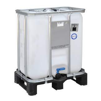 Werit Contenedor Depósito 300 litros Palet de plástico