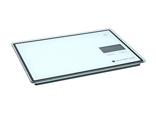 MASTER CLASS MCSCALE65 Digital Kitchen Scales with Touchless Tare in Gift Box, Plastic