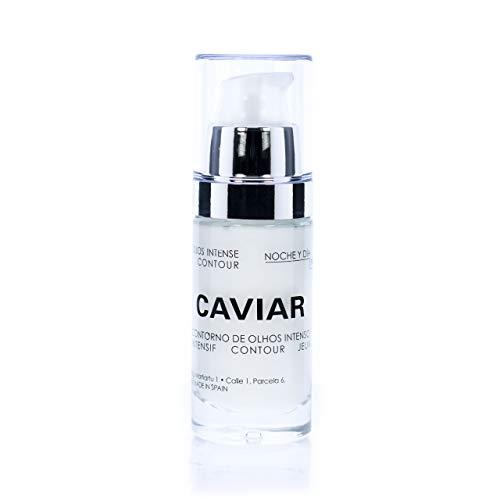 Noche Y Día Contorno de Ojos Intense Caviar, 30 Mililitros