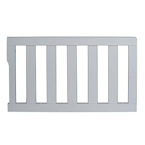 Dream On Me Universal Convertible Crib Toddler Guard Rail, Steel Grey