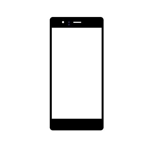 UU FIX Pantalla frontal de cristal de repuesto original para Huawei Ascend P9 Lite de 5,2 pulgadas (negro), pantalla táctil LCD con juego de herramientas.