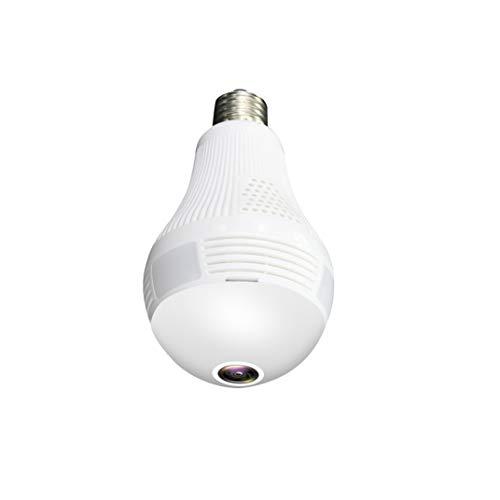 ZLDQBH Lampadina LED HD Telecamera di sorveglianza Mini videocamera Portatile a infrarossi Motion Detection Video Registratore vocale