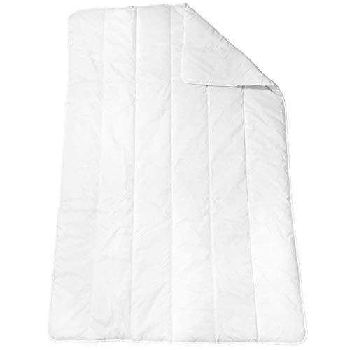 BEFA Steppbettdecke 135 x 200 cm Bettdcke Für Allergiker ✓ Waschbar bis 95°C ✓ Ganzjahresdecke | Vierjahreszeiten-Bett mit Klimafaser | Steppdecke 1000g Füllgewicht